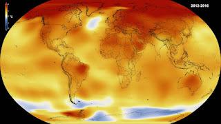 Rekor Lompatan Suhu di 2014-2016, Tertinggi Sejak 1900