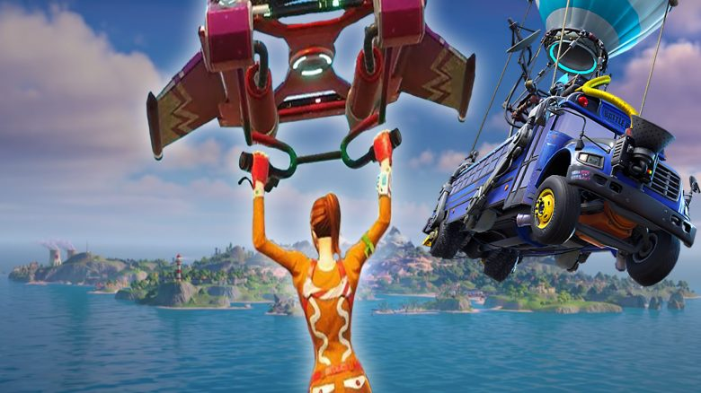 New alien glider in Fortnite has a secret feature - so you activate it