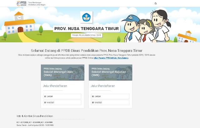Tata Cara Pendaftaran Peserta Didik Baru (Pendaftaran PPDB Online/ PSB Online) SMA dan SMK Tahun Pelajaran 2019/2020