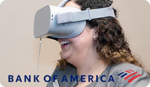Immersive learning at Bank of America