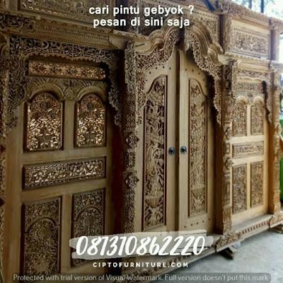 Juap Pintu gebyok Murah Di Jepara