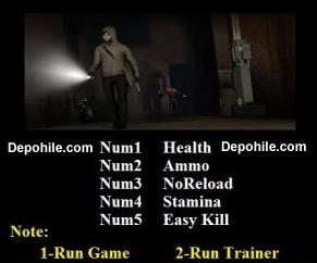 Cry of Fear (PC) Oyunu Sınırsız Mermi,Can +5 Trainer Hilesi
