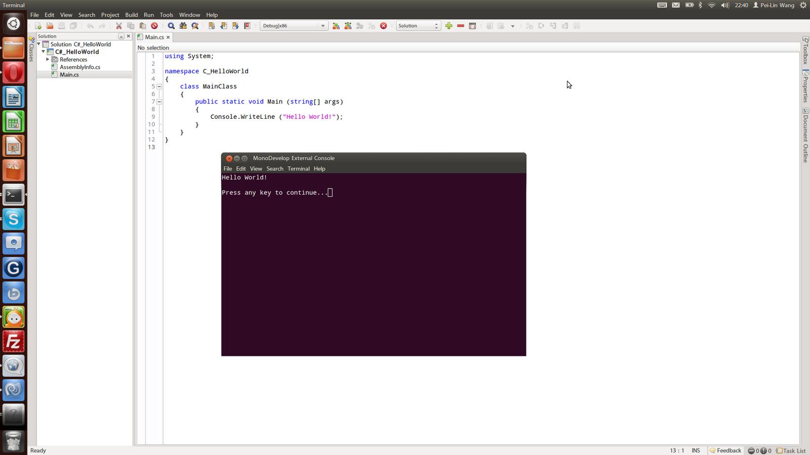 Cross-Platform IDE - MonoDevelop   Be Myself