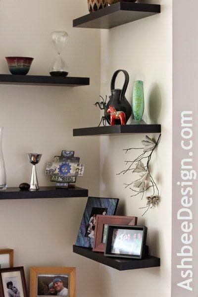 Hogares frescos 23 ingeniosas ideas para la decoraci n de for Adornos para la sala de casa
