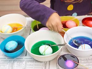 Cómo teñir los huevos de Pascua