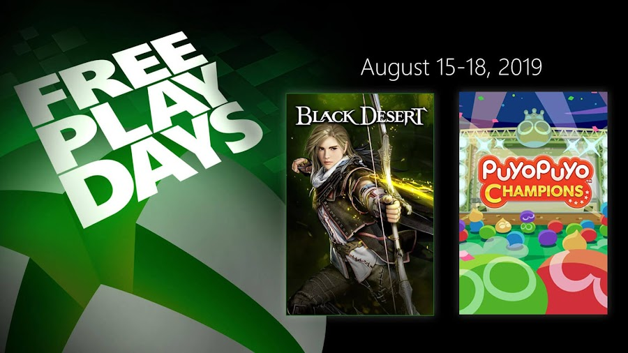 black desert puyo puyo champions xbox live gold free play days event