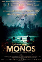 Estrenos de cine en España para el 21 de Febrero de 2020: 'Monos'