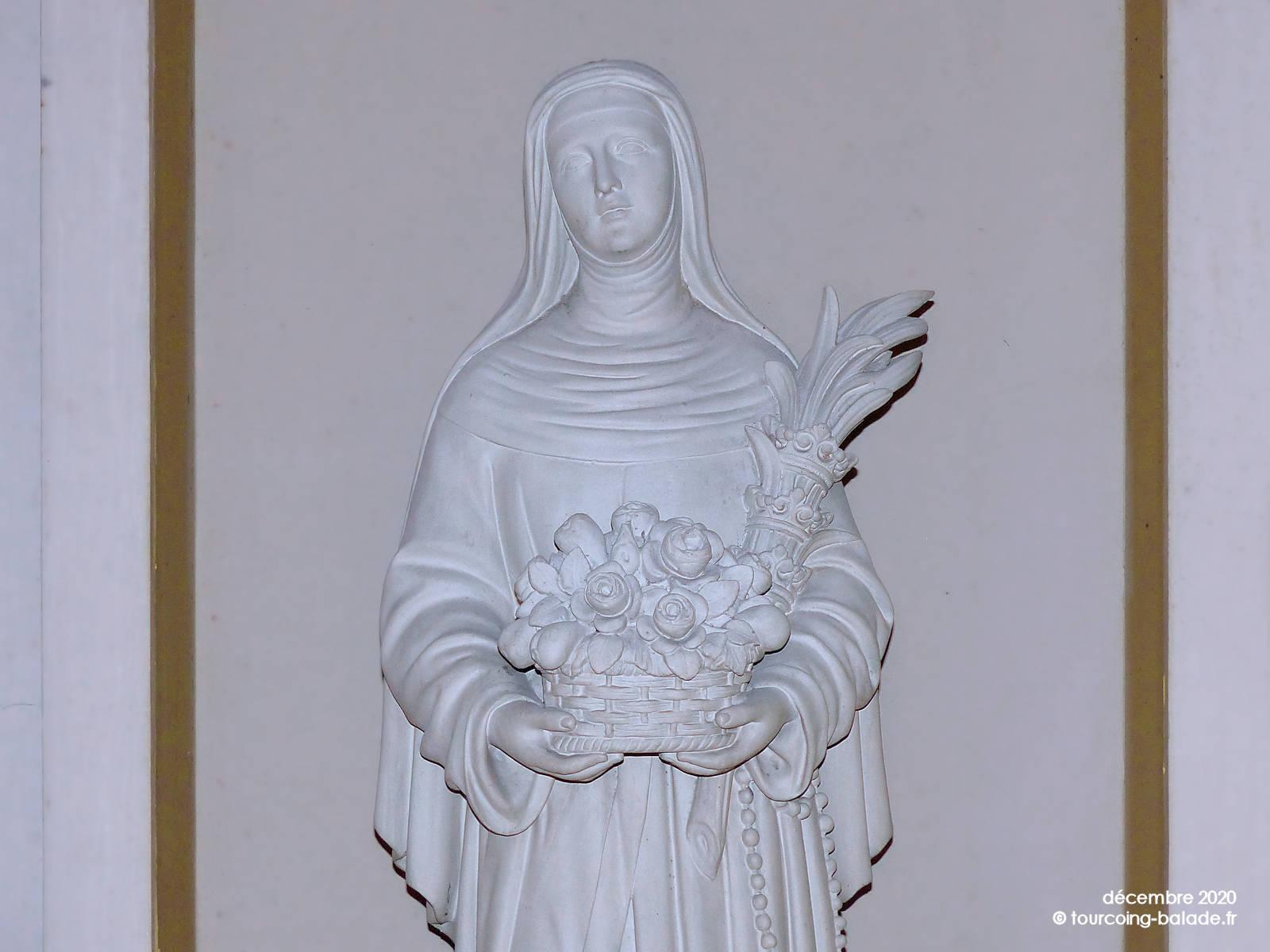 Sainte Rita, Église Saint-Martin Roubaix, 2020