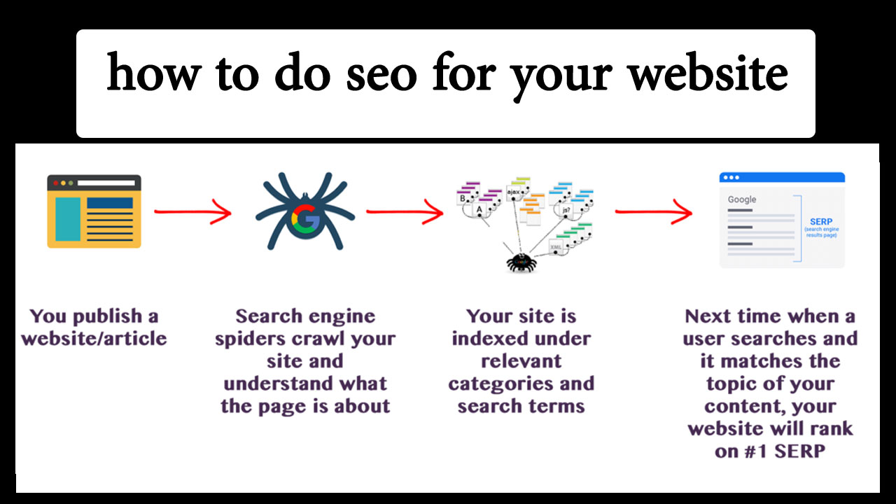 how to do seo for your website