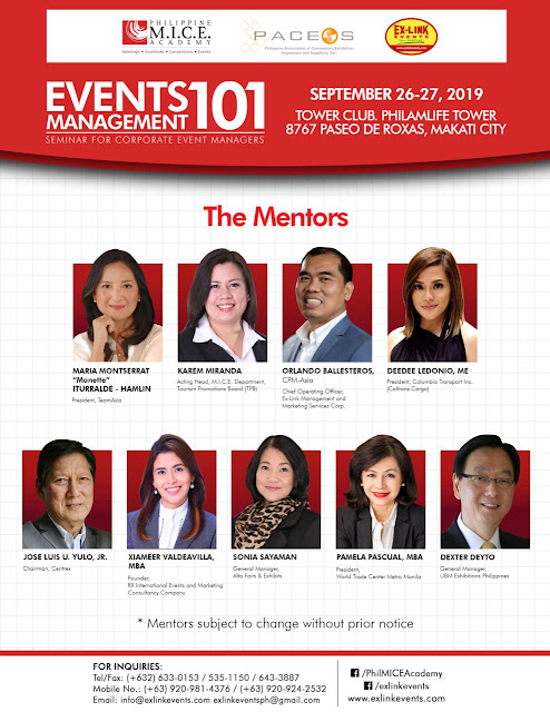 Event Management 101 Conference Philippines