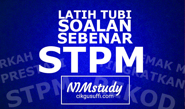 NIMstudy STPM Ulangkaji soalan peperiksaan sebenar secara online!