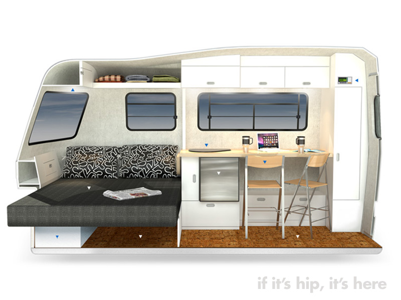 Good Design For The Great Outdoors Nest Caravans If It