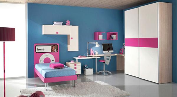 10 Model Tempat Tidur Minimalis Untuk Anak Perempuan Bertema Pink ! - Tekno
