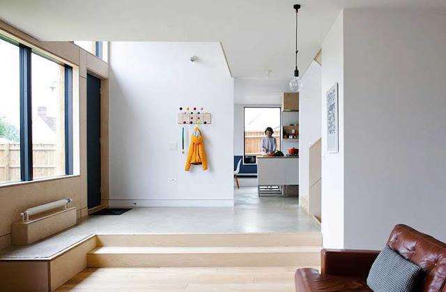Modern minimalist ev dekorasyonu