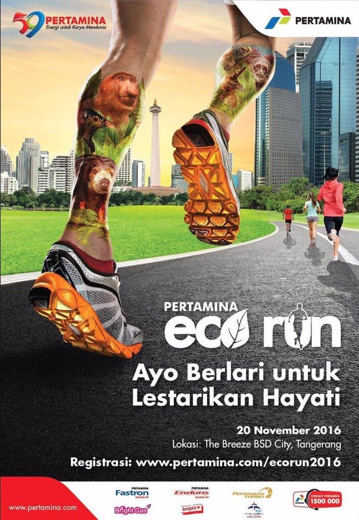 Pertamina Eco Run 2016