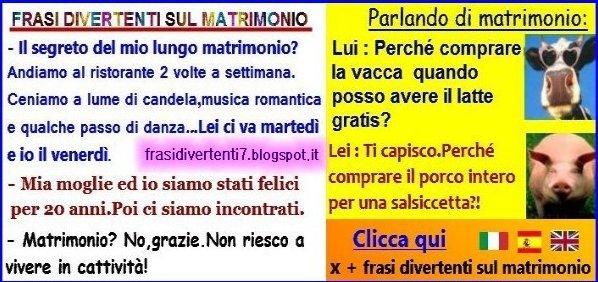 Auguri Matrimonio In Rima : Foto con frasi da ridere