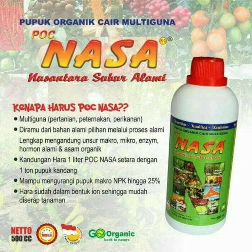 POC NASA, Pupuk Cair Multiguna