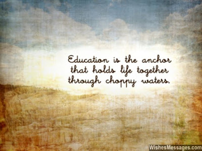 student education is the anchor