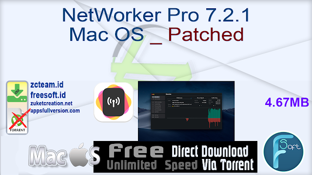 NetWorker Pro 7.2.1 Mac OS _ Patched