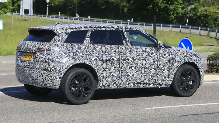 Range Rover Evoque sẽ có phiên bản 5+2 chỗ