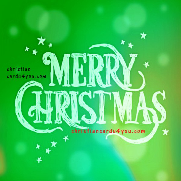 Merry Christmas image with quotes by Mery Bracho