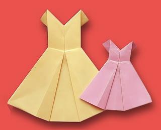 Origami Baju Anak 1