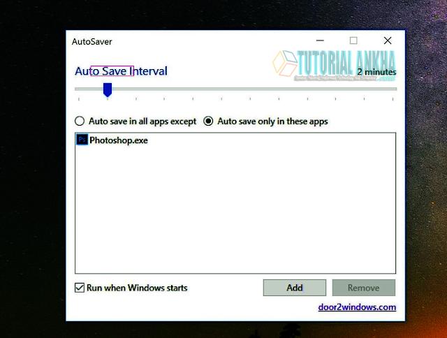 Fitur Auto-Save di Aplikasi Windows