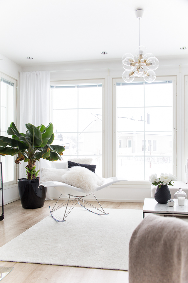 villa h, olohuone, livingroom, sisustus, stingray