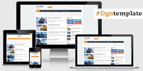 Fast Blog Responsive Blogger Template | high quality themes