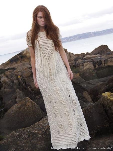 vestido-tricot-de-mujer-largo