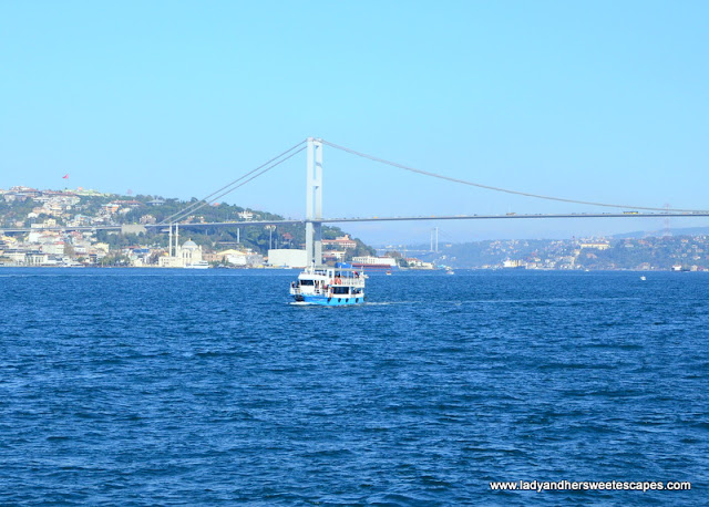 The Bosphorus Istanbul Turkey
