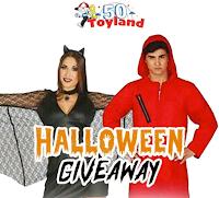 Vinci gratis un costume per Halloween da adulto