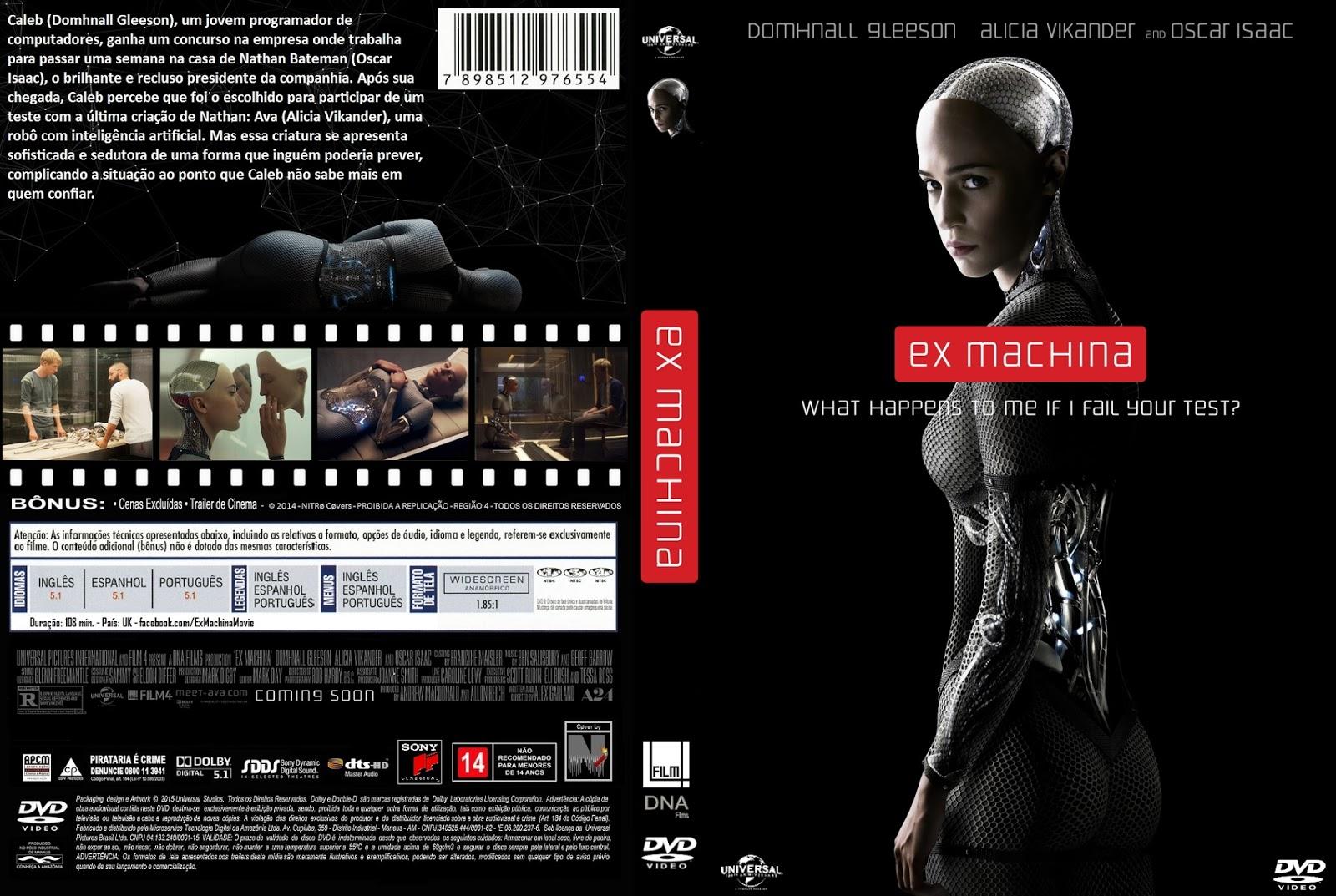 Ex Machina (2015) DVD-R Oficial