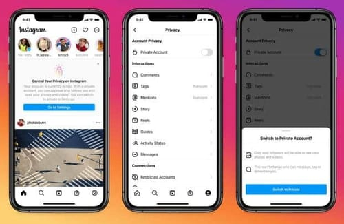 Instagram makes teen accounts private by default