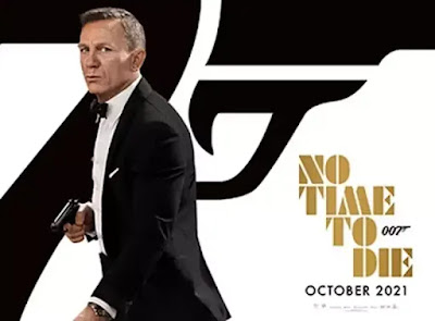 映画『007/ノー・タイム・トゥ・ダイ』ポスター