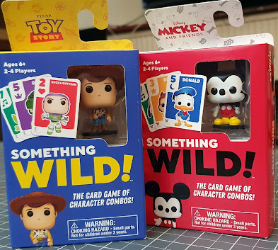 Something Wild! Card Games Toy Story and Mickey and Friends Disney editions