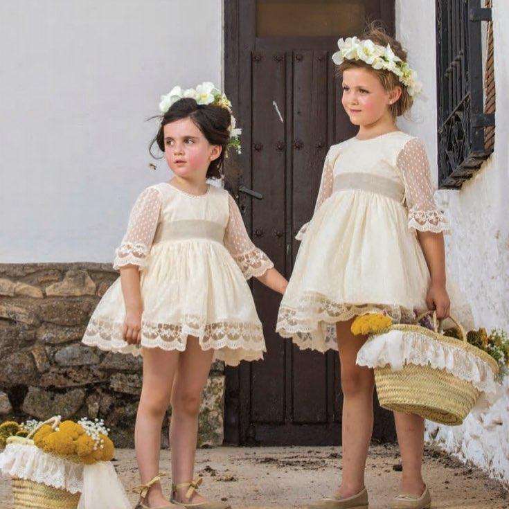 Vestidos ceremonia nina arras