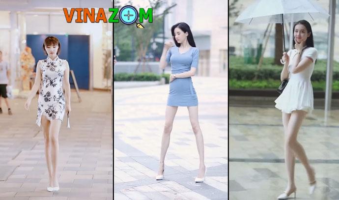 chân dài hotgirl Trung Quốc