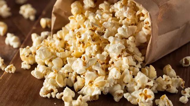 Bukan Hanya Cemilan Tetapi ada manfaat lain Dari Popcorn