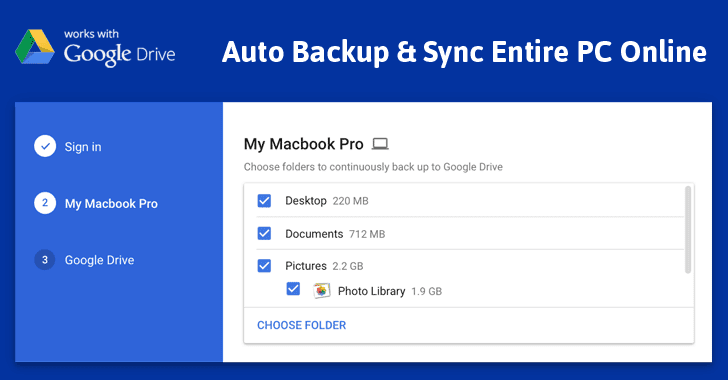 Google's New Tool Lets You Easily Backup & Sync Your Entire PC to the Cloud