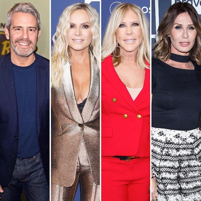 Andy Cohen Responds To Tamra Judge And Vicki Gunvalson's 'Ageist' Claim And Talks About His Fallout With Carole Radziwill!