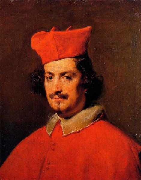 Диего Веласкес - Портрет кардинала Камилло Астали Памфили (1650)