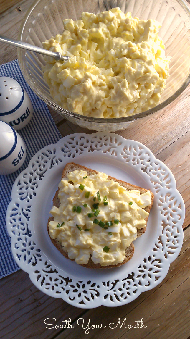 South Your Mouth: Classic Egg Salad
