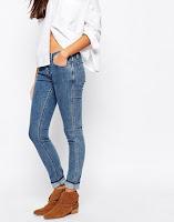 Low Rise Jeans - IDEGAYA