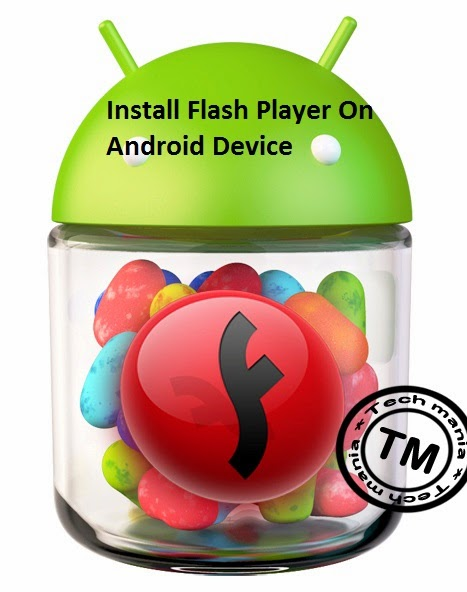 Download Flash Player on android device