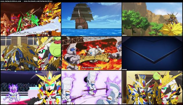 SD Gundam World Heroes Sub Español