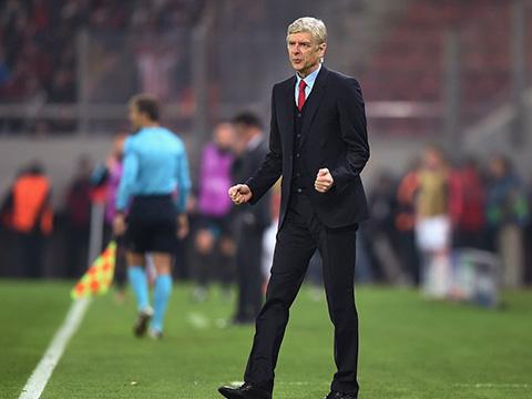 Wenger hết lời ca ngợi học trò sau chiến thắng