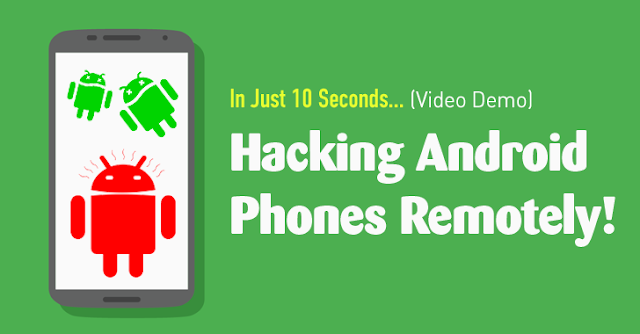 How to Hack an Android Smartphone Remotely!