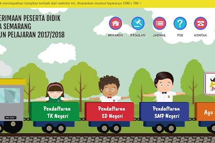 Perubahan jadwal PPD SMP Negeri Kota Semarang