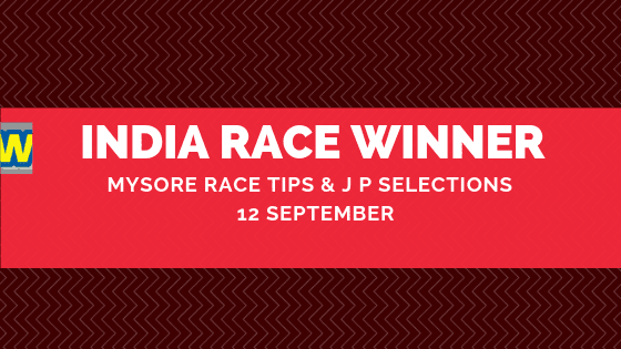 Mysore Race Selections 12 September